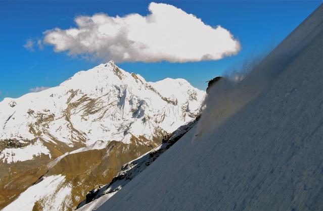 Ben Skis Nepal Powder